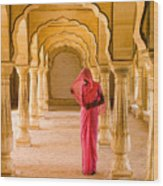 Amber Fort Temple Wood Print