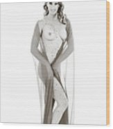 Nude Model 1431.009 Wood Print
