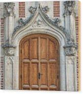 Amboise Door Wood Print