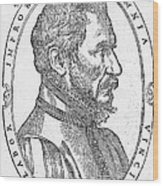 Ambroise Pare, French Surgeon, 1561 Wood Print