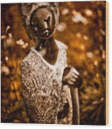 Ambuya Grandmother Wood Print