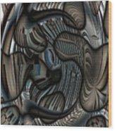 Ameboids Wood Print