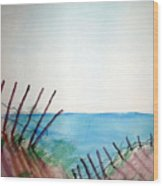 Amelia Island Wood Print