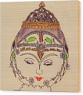 Amerat Goddess Of Flora Wood Print