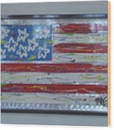 America Edition 1 Wood Print