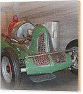 America On Wheels Midget Racer Wood Print