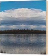 America The Beautiful 2 - Alaska Wood Print