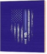 America War Wood Print