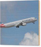 American Air Wood Print