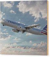 American Airlines A321-231 N917uy Wood Print