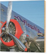 American Airlines Flagship Wood Print