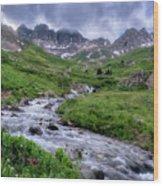 American Basin Wood Print