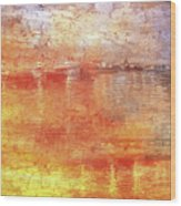 American Beach Cottage Art And Feelings-5 Wood Print