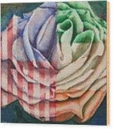 American Beauty Irish Rose Wood Print