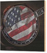 American Bluegrass Music Wood Print