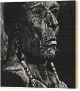 American Chief Wood Print