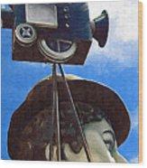 American Cinema Wood Print