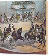 American Circus, C1872 Wood Print