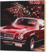 American Dream Cars Catus 1 No. 1 H A Wood Print