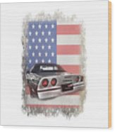 American Dream Machine Wood Print