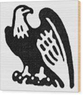 American Eagle, 1854 Wood Print
