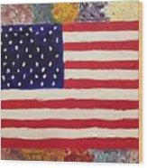 American Elegy Wood Print