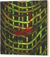 American Factory Wood Print by Gayland Morris