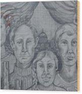 American Family? Wood Print