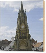 American Fountain - Stratford-upon-avon Wood Print