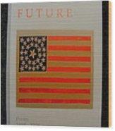 American Future Wood Print