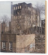 American Ghetto - The South Bronx In New York City Wood Print