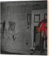 American Graffiti 6 - Virgin Sacrifice Wood Print