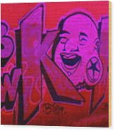 American Graffiti 7 The Star Gauger Wood Print