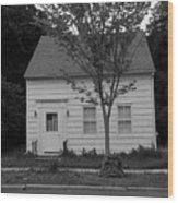 American Home Wood Print