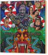 American Horror Story Freak Show Wood Print