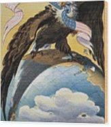 American Imperialism, 1904 Wood Print