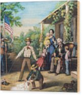 American Independence 1859 Wood Print