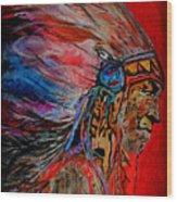 American Indian Wood Print
