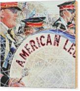 American Legion Wood Print