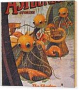 American Magazine Cover Wood Print