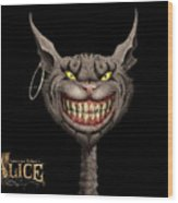 American Mcgee's Alice Wood Print