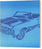 American Muscle Car Wood Print
