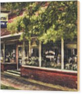 American Nostalgia Wood Print