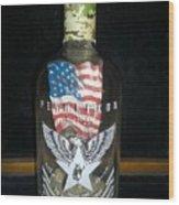 American Pendleton Commemorative Bottle Wood Print