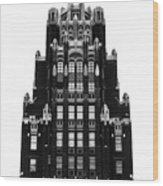 American Radiator Building Wood Print
