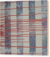 American Sacrifice Wood Print