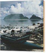 American Samoa Wood Print