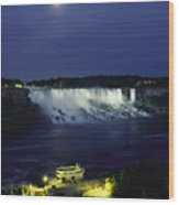 American Side Of Niagara Falls, Seen Wood Print