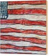 American Social Wood Print