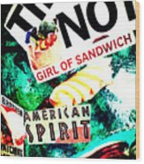 American Spirit Wood Print